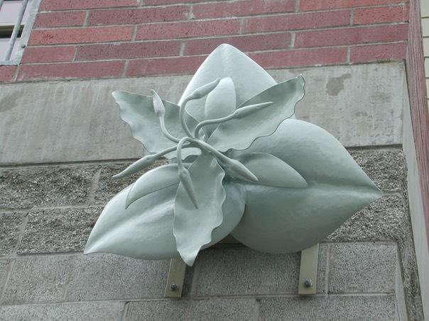 Delridge Library Trillium Sculpture Whitesavage Amp Lyle